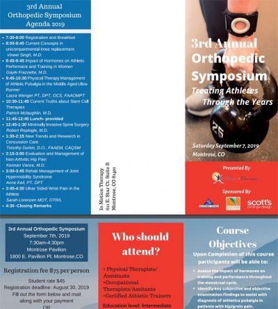 3rd Annual Orthopedic Symposium Event