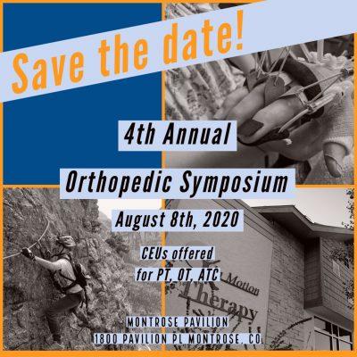 4th Annual Orthopedic Symposium Flyer